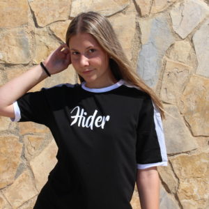 Contrast T-Shirt Black